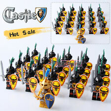 21pcs/Lot Cattle Devil B Medieval Castle Knights with Weapons Minifigures