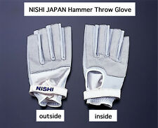 NISHI JAPAN Hammer Throw Glove Hard type for Left hand T5712A size:L