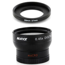 Albinar 28mm Wide Angle Lens + Macro for NIKON COOLPIX 4500 995 990 Camera NEW