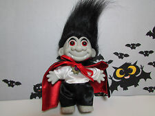"HALLOWEEN DRACULA/VAMPIRE  - 5"" Russ Troll Doll - NEW IN ORIGINAL WRAPPER"