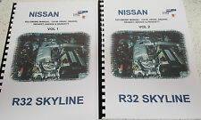 NISSAN R32 SKYLINE ENGINE MANUAL CA18i RB20E RB220DE RB20DET RB25DE RB26DETT
