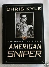 American Sniper SIGNED book Memorial Edition Chris Kyle Autographed by Taya +COA