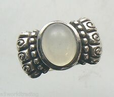 Sterling Silver .925 Ring with Moon Stone