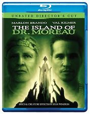 THE ISLAND OF DR MOREAU (1996 Val Kilmer -  Blu Ray - Sealed Region free for UK