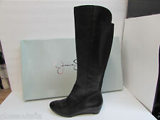 Jessica Simpson Size 6 M Black Leather Boots New Womens Shoes