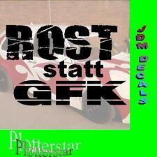 Rost statt GFK  Drift Winter JDM Sticker Aufkleber oem Shocker Winterauto