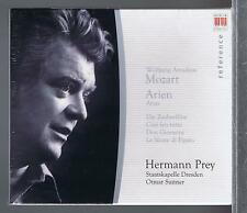 MOZART CD NEW ARIAS HERMANN PREY