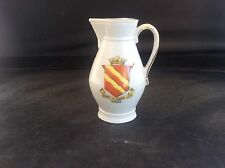 Crested China HORNSEA Coat of Arms East Yorkshire Jug Pitcher 73mm Mint