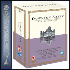 DOWNTON ABBEY - COMPLETE SERIES 1 2 3 4 5 & 6 *BRAND NEW DVD BOXSET***