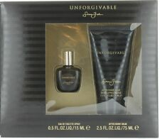 Unforgivable by Sean John for Men Set - Mini EDT Spray 0.5oz + ASB 2.5oz NIB