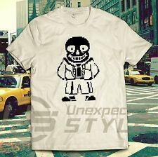 UNDERTALE INSPIRED T shirt SANS SKELLINGTON gaming twitch steam Tee Unisex Kids