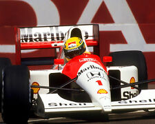 Ayrton Senna Formula One F1 McLaren Marlboro 1991 U.S. Grand Prix Photo