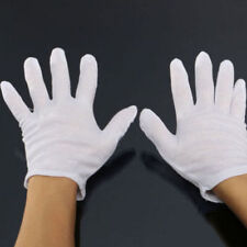 FD4047 White Glove Ghost-step Dance Hip-Hop Jewelry Silver Inspection 1 Pair