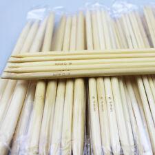55Pcs 11sizes 5'' 13cm Double Pointed  Bamboo Knitting  Needles