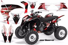 AMR Racing Honda TRX 700 XX Graphic Kit Wrap Quad Decal ATV 08-12 CARBON X RED