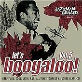 Various Artists Jazzman Gerald presents Lets Boogaloo Vo CD