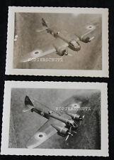 2 Original Fotos 1. Preis Modell Flugzeug - Bau Bristol Blenheim 2.WK (A)
