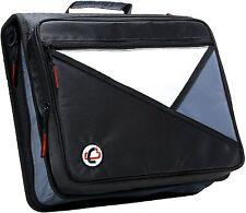 Case-it Black 2-Inch 3-Ring Zipper Binder Office School Organizer Storage