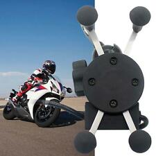 Motorcycle Bike Car Mount Cellphone Holder USB Charger For Phone BO