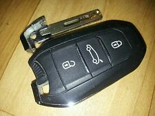 GENUINE CITROEN DS3 DS5 DS4 DS3 ETC 3 BUTTON SMART KEY FOB REMOTE KEY - TESTED