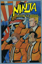 Ninja High School #7 1988 James Hanrahan Ben Dunn Eternity Comics