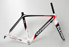 STRADALLI RP14 FULL CARBON FIBER ROAD BIKE BICYCLE FRAME SET BB30 700c  48 cm