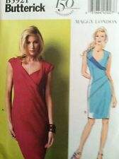 Butterick Sewing Pattern 5921 Dresses Maggy London Sizes 16 18 20 22 24 New