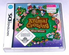 "Nintendo DS jeu ""ANIMAL CROSSING wild world"" allemand/excellent état"