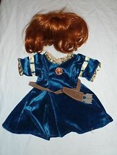 BUILD-A-BEAR Disney BRAVE MERIDA Costume with Wig and Arrow BABW Clothes