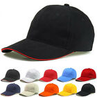 2016 Unisex Plain Solid Washed Cotton Polo Baseball Ball Caps Hat Adjustable