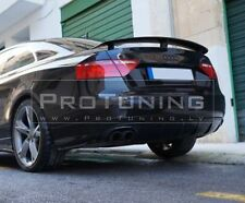 Audi A5 Coupe Rear trunk spoiler Votex style Rear Boot Lip Spoiler wing trim