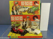 "CORGI TOYS MODEL GIFT SET  No.40       "" THE AVENGER SET""               VN MIB"