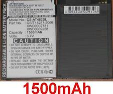 Batterie 1500mAh Pour AIRIS type GB/T18287-2000 XWD0002731 XWD0009258