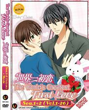JAPAN Anime DVD Sekai Ichi Hatsukoi Complete Season 1+2 (1-26) + Movie Eng Sub