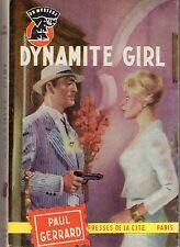 UN MYSTERE 600 DYNAMITE GIRL PAUL GERRARD 1962