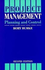 Project Management : Planning and Control by Rory Burke (1994, Paperback)