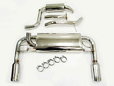 OBX Catback Exhaust For 2004 05 06 07 08 09  Volvo S40N/V50 Turbo T5 FWD
