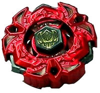 TAKARA TOMY BEYBLADE METAL FUSION LIMITED BB-114 4D RED Vari Ares D:D VARIARES