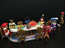 Playmobil ROYAL BANQUET 3021 add on 3019 Princess Fairy Tale Castle Palace HTF