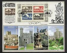 GB 2005 50th Anniversary Castle High Values Cover Signed by Dan Cruickshank