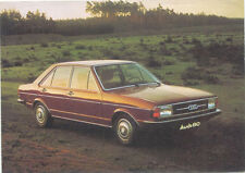 Audi 80 GLS European issue postcard 1976-77