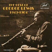 The Best of George Lewis 1943-1964 New CD