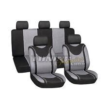 Cobertura De Asiento Forro De Asiento Protectores Funda negro gris #5 para Ford
