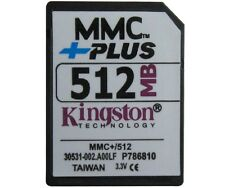 Original Kingston 512MB MultiMedia Card MMC card 13pins +Plus
