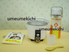 Re-ment dollhouse miniature old fashioned rice cooker and water dispenser 2006