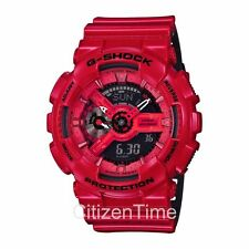 -NEW- Casio G-Shock Red Magnetic Resistance Watch GA110LPA-4A