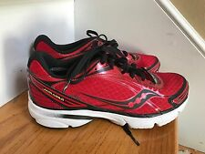 Saucony Mirage 11  Size 8M red Excellent Condition