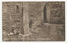 Postcard, Exeter, St Nicholas Priory, Cross Shaft and Cloister Entry