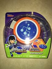 TOMY DISNEY JR MILES FROM TOMORROWLAND BLASTBUCKLE FLASH DISCS DISC LAUNCHER