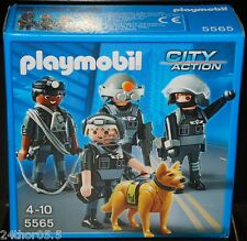 """PLAYMOBIL City Action """"Force de Police"""" N°5565"""